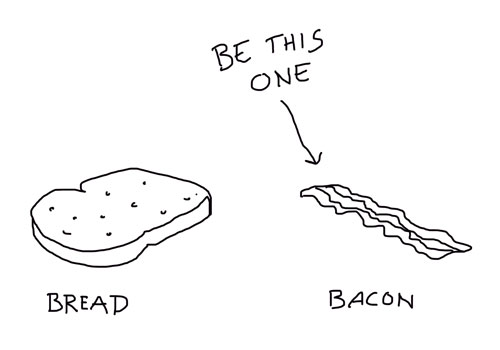 Bread Or Bacon