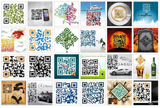 Qr codes making advertising more useful the village of useful designer qr codes 11 sciox Choice Image