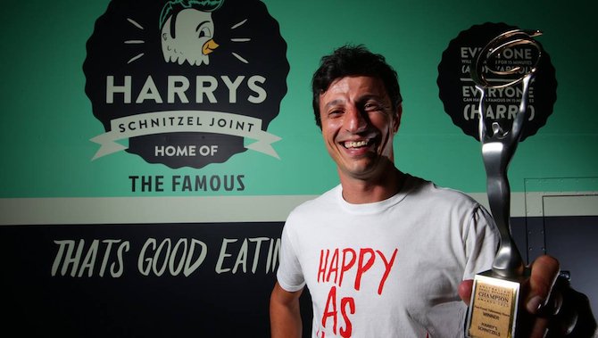 Harrys Schnitzel Joint Australian Fast Food Business