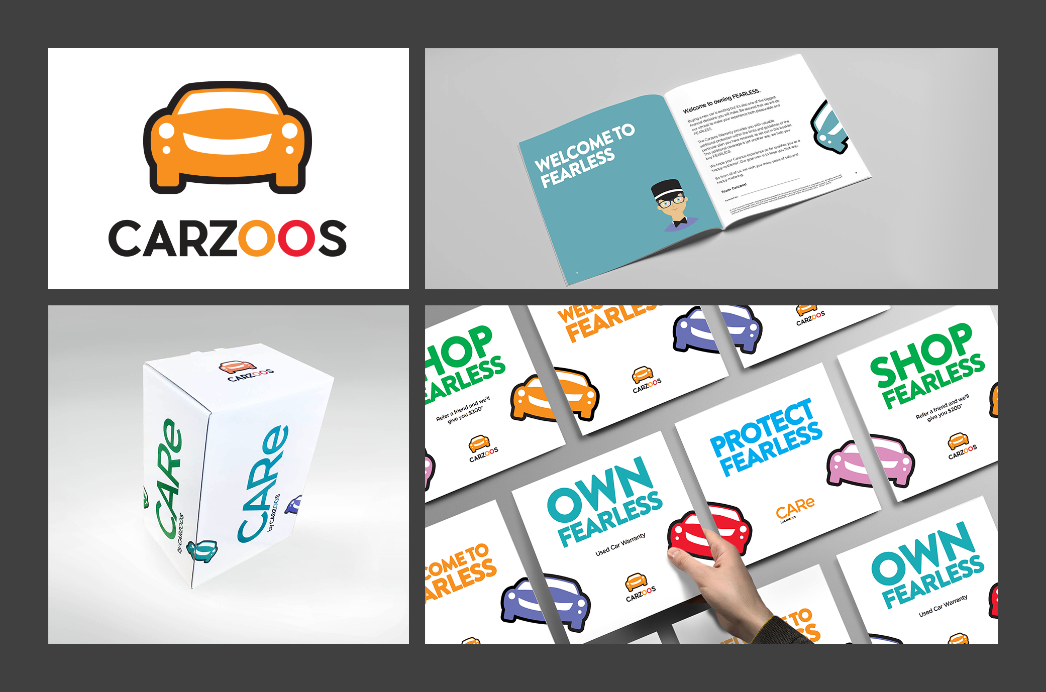 Carzoos Branding And Retail Packaging